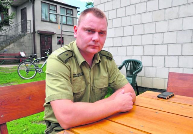 Marcin Sroka nie czuje się bohaterem, zrobił, co powinien