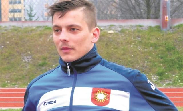 Dawid Kumor przeszedł w przerwie letniej  do Piasta z buskiego Zdroju, a w sobotę strzelił pierwszą bramkę  dla klubu ze Stopnicy.