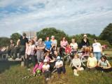 Mieszkańcy gminy Sławno wybrali się na rajd rowerowy ZDJĘCIA