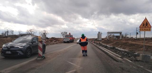 Trwa budowa trasy S5 pomiędzy Bydgoszczą a Nowymi Marzami (woj. kujawsko-pomorskie)