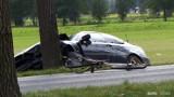 Powiat wolsztyński. Nie żyje rowerzystka potrącona przez kierowcę BMW