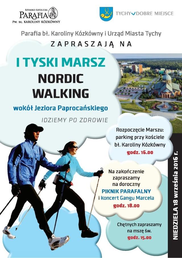 I Tyski Marsz Nordic Walking