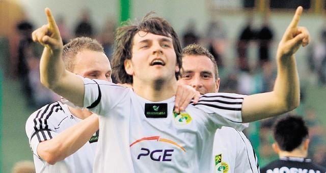 Oby po meczu w Gdyni Mateusz Cetnarski miał równie dobry humor, jak po ostatniej wygranej z Cracovią