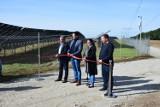 Wielką, nowoczesną farmę fotowoltaiczną otwarto w Zielomyślu pod Pszczewem. Wkrótce ma powstać następna!