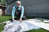 Powstaje wyjątkowy mural z patronem Jarosławia, Michałem Czartoryskim. Jego twórcą jest Marek Gliwa