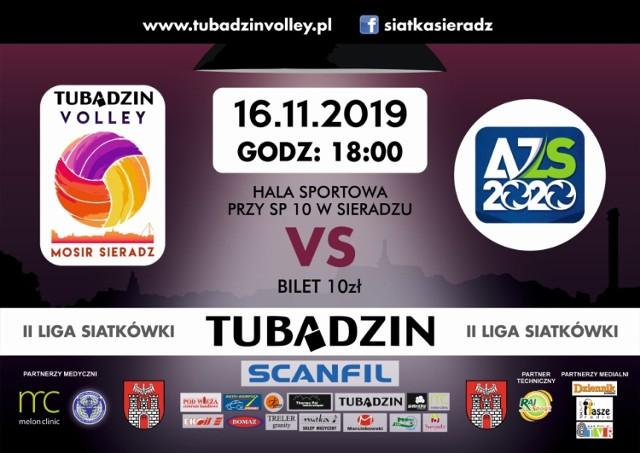 Dopingujmy Tubądzin Volley w meczu z AZS Częstochowa