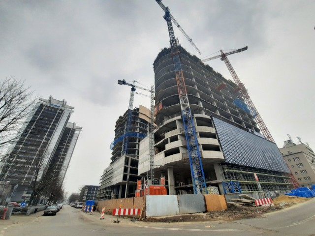 Budowa Global Office Park w Katowicach