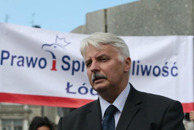Witold Waszczykowski typowany jest na ministra spraw zagranicznych po zwycięstwie PiS