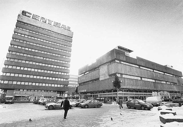 """""""Central' był jednym z nowocześniejszych budynków w Łodzi"""