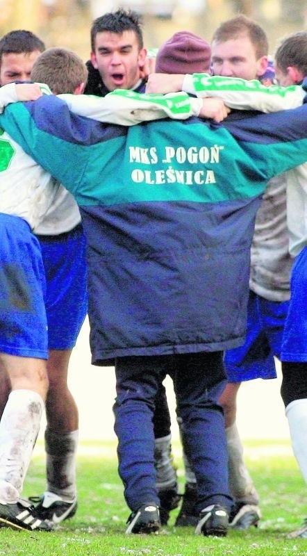 Piłkarze z Oleśnicy przez wiele lat cieszyli kibiców dobrą grą