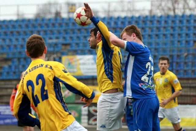 Piłkarze Motoru Lublin zremisowali ze Stalą Rzeszów 1:1