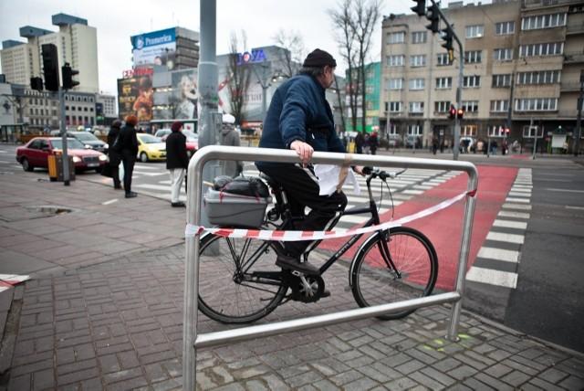 Wideodetektory miały ułatwić rowerzystom przejazd przez skrzyżowanie