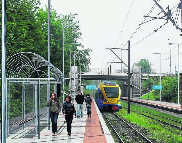 Tak będzie wyglądać stacja przy ul. Grota-Roweckiego i pozostałe
