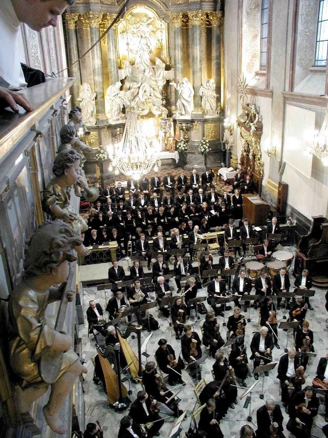 Bazylika Jasnogórska wielokrotnie była miejscem festiwalowych koncertów