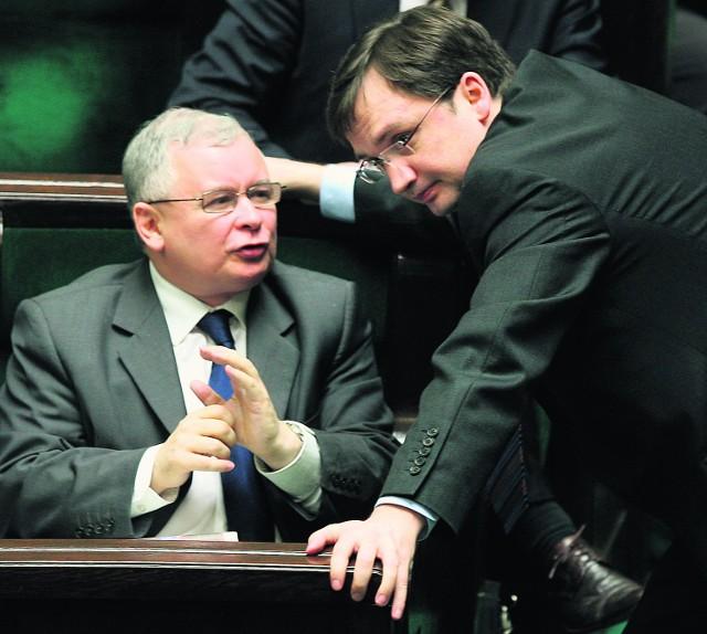 Czy Kaczyński i Ziobro pozostaną w jednej partii?