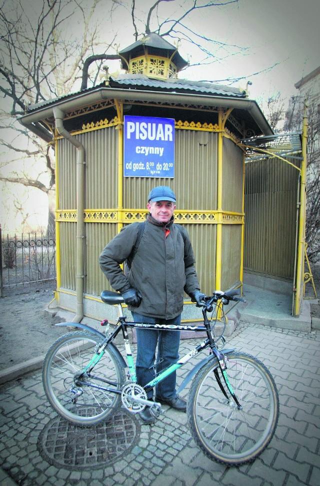 Jan Grabowicz: - Szalet na placu św. Macieja czeka na remont