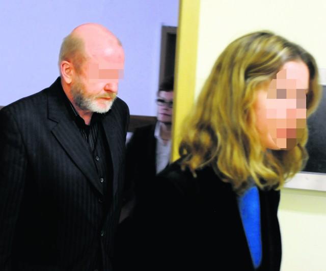 Zdzisław K. wczoraj przed ogłoszeniem wyroku