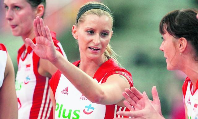Anna Barańska od kilku spotkań jest najlepiej punktującą reprezentacji