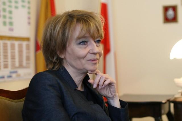 Hanna Zdanowska, prezydent Łodzi, bez podwyżki.