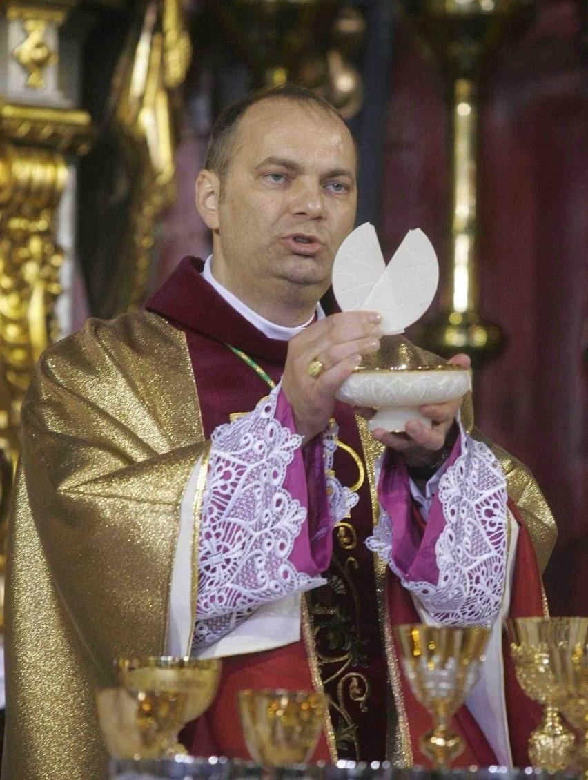 Biskup sosnowiecki ks. Grzegorz Kaszak