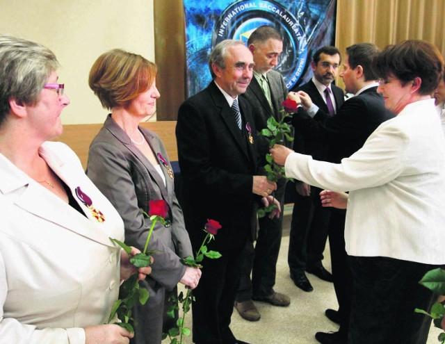 Najlepszych nauczycieli uhonorowano w III LO w Gdyni