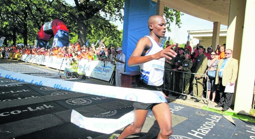Przed rokiem wrocławski maraton wygrał Kenijczyk Vincent Kipchirchir z czasem 2:20:20