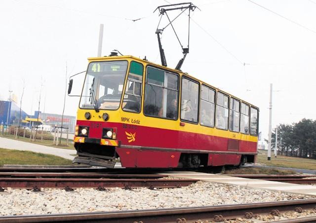 Tramwaje linii 41 dojadą tylko do przystanku Warszawska-Duży Skręt