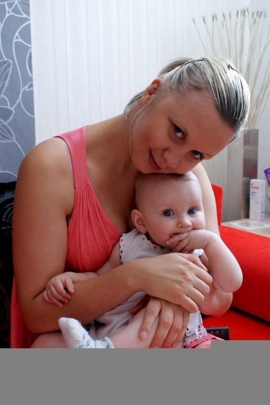 mama: Judyta Gelert, córka Nicole