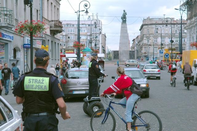 Pan Władysław skarży się na zachowanie strażników miejskich
