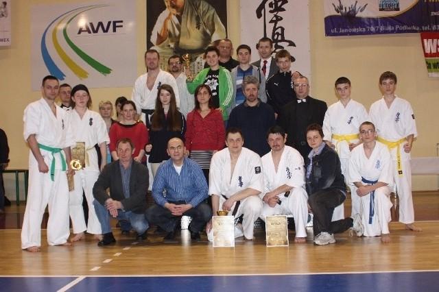 Ekipa Lubelskiego Klubu Karate Kyokushin zajęła drugą lokatę w klasyfikacji drużynowej