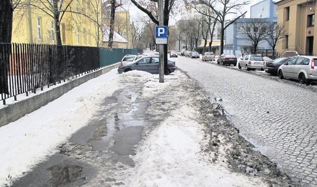 Tu mogłyby parkować auta