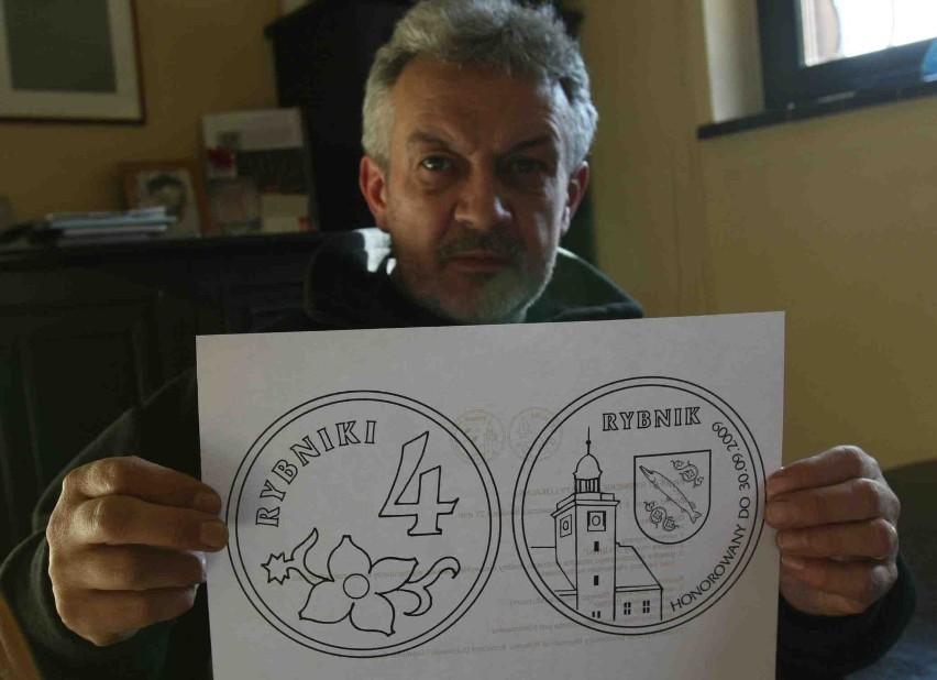 Na rewersie monety znajdzie się wieża rybnickiego ratusza