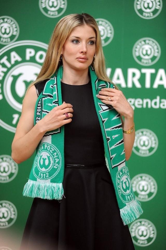 Prezes sekcji piłkarskiej Warty, Izabella Łukomska-Pyżalska przekazała trzy tysiące złotych na ratowanie ŁKS-u
