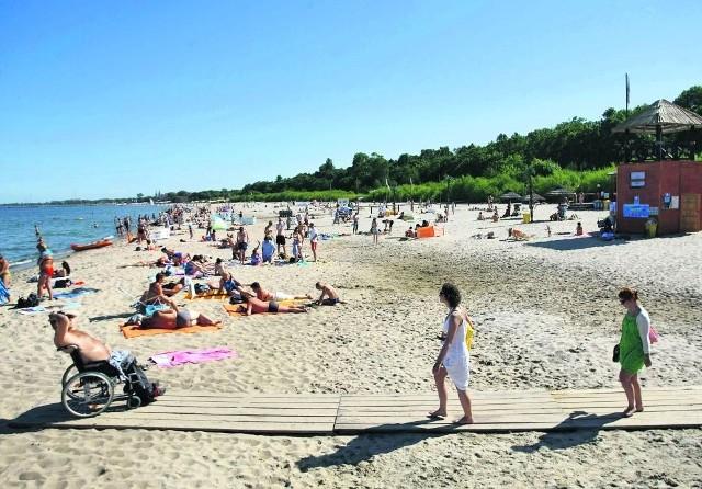 Koliba w Sopocie - kąpielisko, które znowu uhonorowane zostało Błękitną Flagą