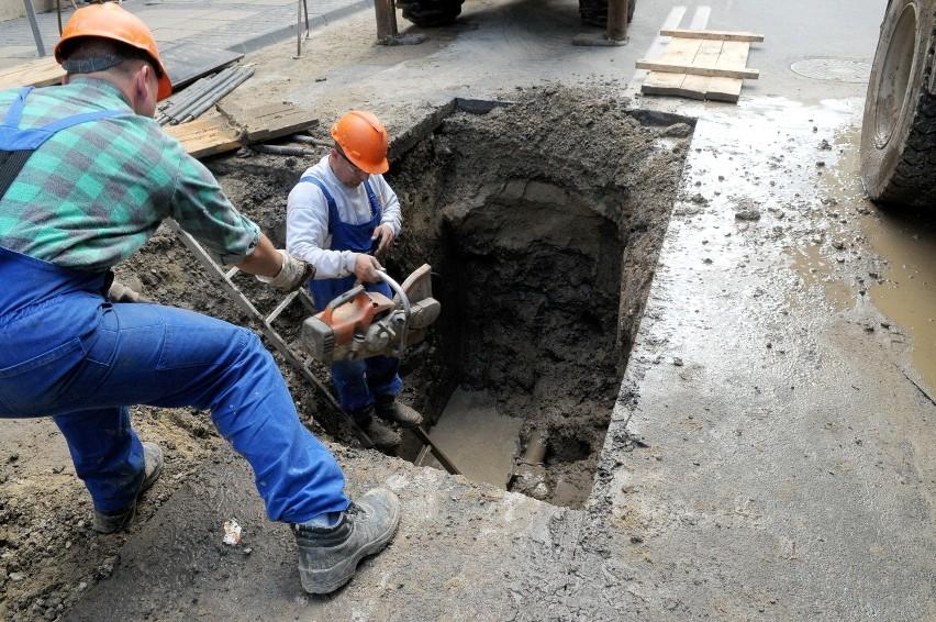 Dolna Panny Marii: Rozkopią ulicę, by położyć nowe rury