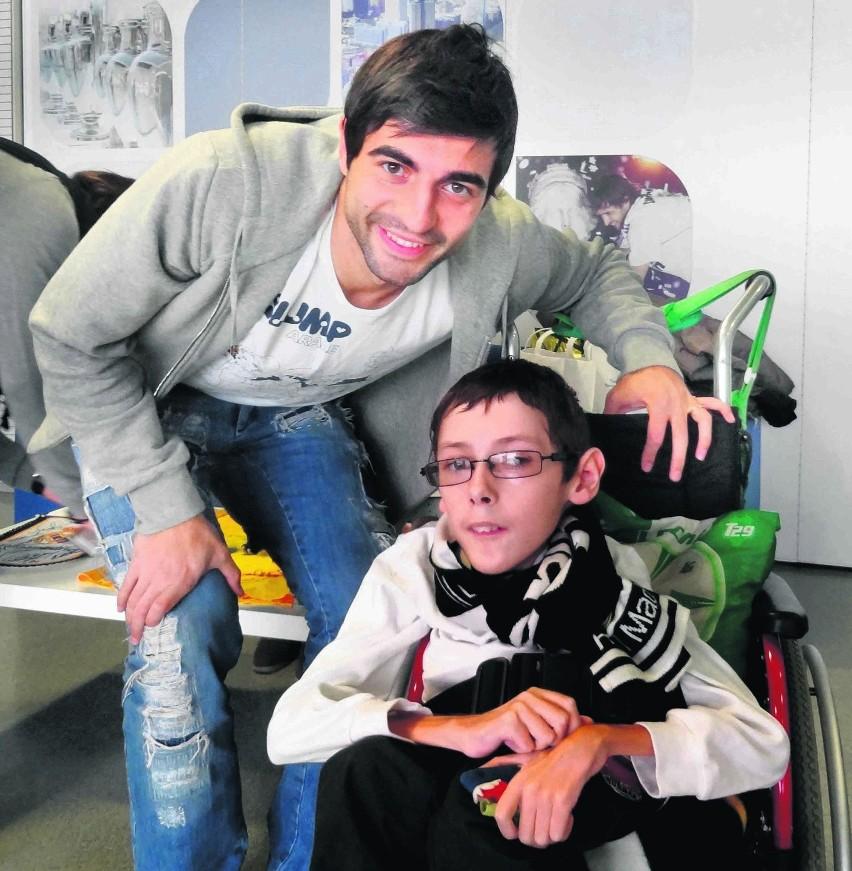 José Callejón z Realu Madryt spotkał się z Dawidem w...