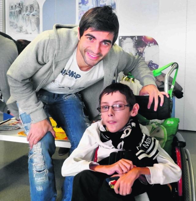 José Callejón z Realu Madryt spotkał się z Dawidem w Madrycie pół roku temu