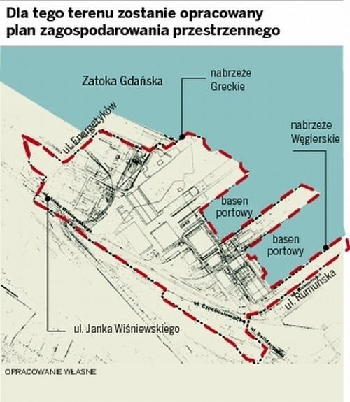 100 ha - takiej  wielkości jest teren po dawnej Stoczni Gdynia, który objęty będzie planem