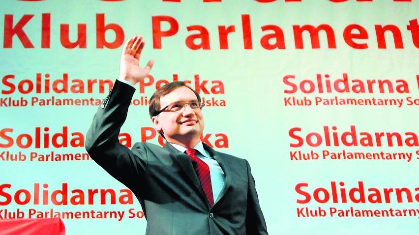 Zbigniew Ziobro zapowiedział, że SP przekształci się w partię polityczną 24 marca