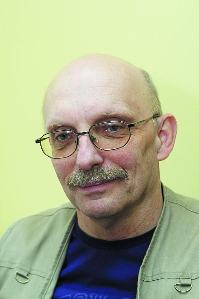 """Wiktor Sawiuk, dziennikarz """"Dziennika Łódzkiego"""""""