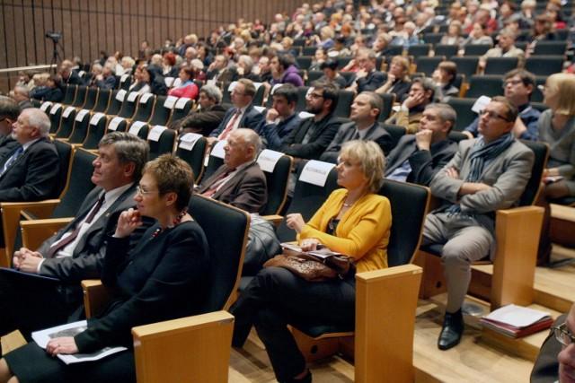 Ludzie kultury stawili się wczoraj w Filharmonii Łódzkiej