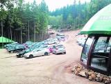 Sobiesiak zarabiał na  nielegalnym parkingu w Karpaczu