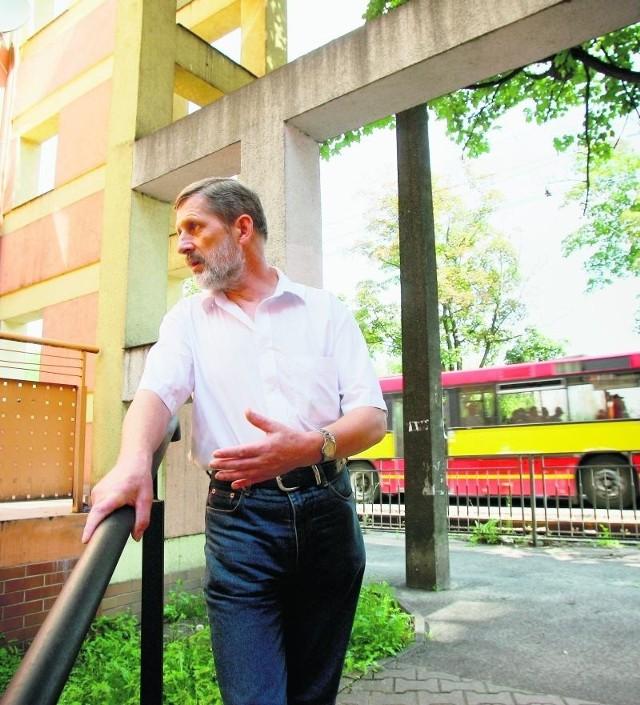 Zbigniew Marczak: - Chciałbym więcej autobusów. Teraz wyjechać stąd to duży kłopot
