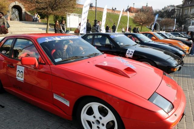 Miłośnicy Porsche otworzyli w Lublinie sezon 2012