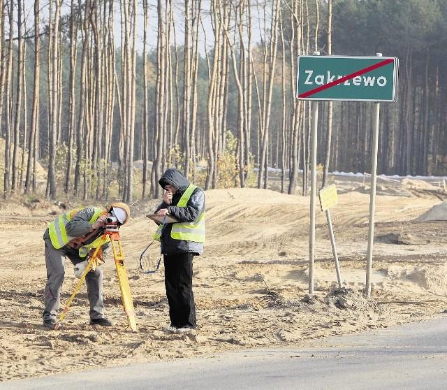 Drogowcy czekają na pozwolenie na budowę drogi
