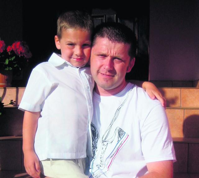 Grzegorz Żukowski od czterech lat nie widział swojego syna