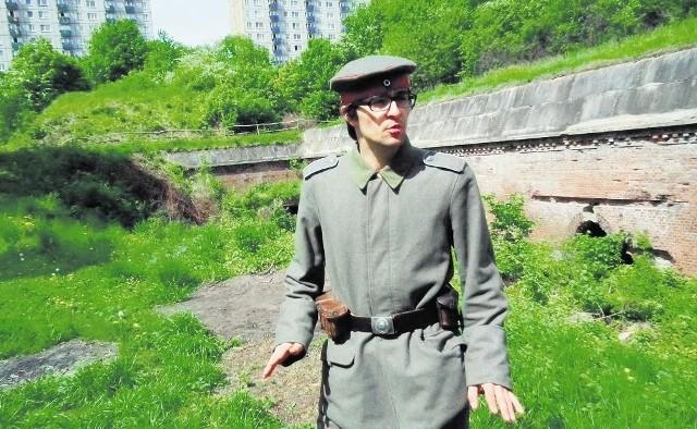 Krzysztof Kłoskowski wraz z przyjaciółmi chciałby stworzyć forteczny szlak  turystyczny