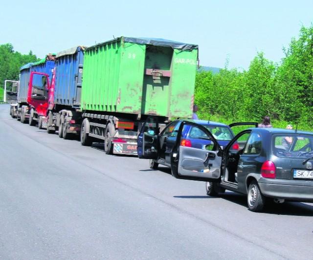 Gigantyczne korki to często lekkomyślność kierowców