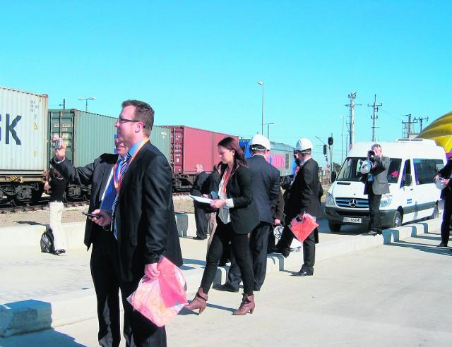 Pierwszy pociąg z kontenerami odjechał do Trójmiasta
