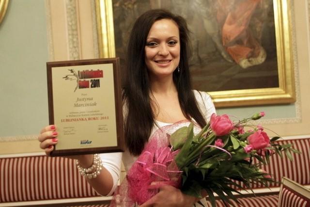 Justyna Marciniak (Lubelski Klub Karate Tradycyjnego) została lublinianką roku 2011